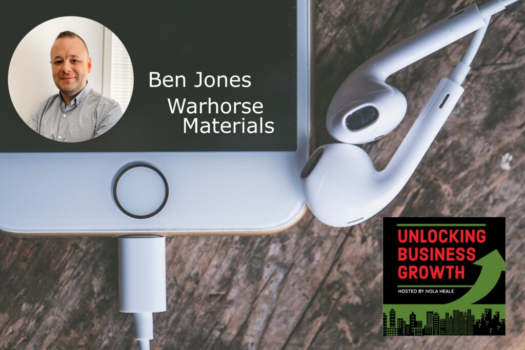 Ben Jones  New Surface Technologies, Long Term Solutions, and Even Year-Round Dial-a-Pothole-Repair at Warhorse Materials