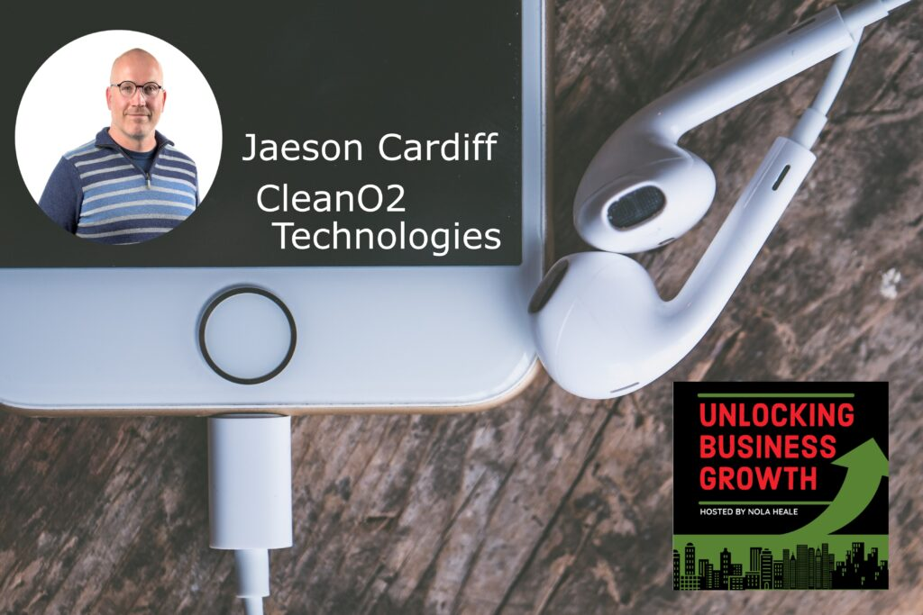 Jaeson Cardiff  Profitable Micro-scale Carbon Capture and Beneficial By-product Processing at CleanO2
