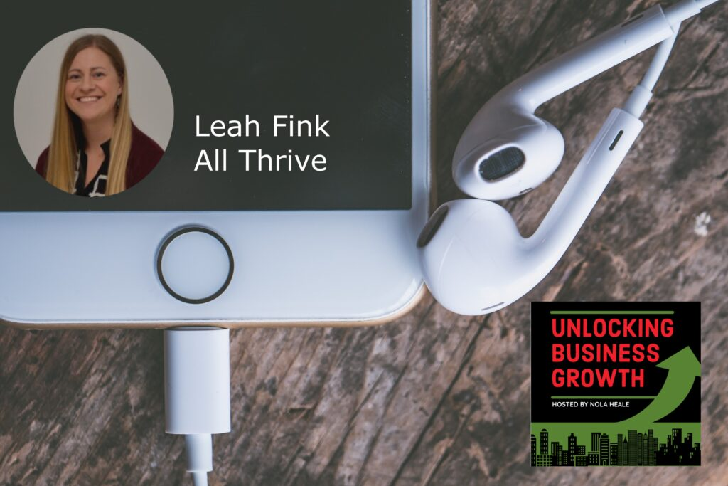 Leah Fink  Enhancing Self-Awareness and Increasing Mental Resilience through Experiential Programs at All Thrive