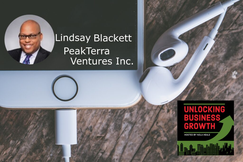 Lindsay Blackett  Curating, Incubating and Accelerating Companies in the Cannabis and Hemp Industry for more than CBD and THC, at PeakTerra Ventures Inc.